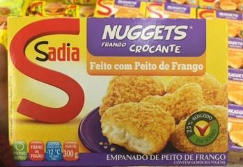 Nuggets Peito de Frango Crocante Sadia