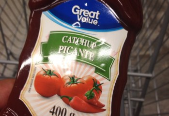 Catchup Picante Great Value