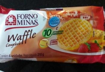 Waffle Forno de Minas