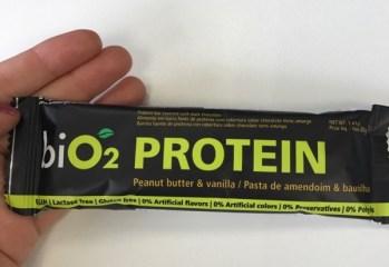 Barra de Proteína Pasta de Amendoim e Baunilha BiO2