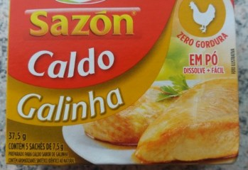Caldo de Galinha Sazon Ajinomoto