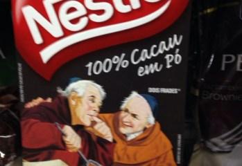 Cacau em Po 100 Dois Frades Nestle