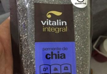 Semente de Chia Vitalin Integral