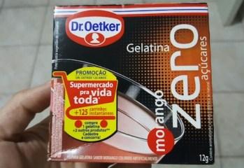 Gelatina Morango Zero Dr. Oetker