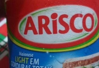 Maionese Light Arisco