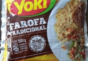 Farinha de Mandioca Temperada Farofa Tradicional Yoki