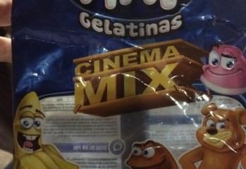 Balas de Gelatina Cinema Mix Fini