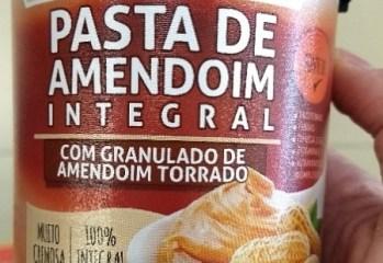 Pasta de Amendoim Integral com Granulado de Amendoim Torrado Supply Life