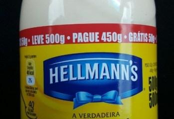 Maionese Hellmanns
