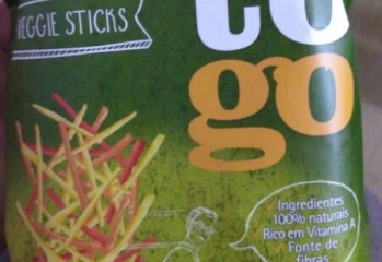 Batatas-Doces Palha Veggie Sticks Roots to Go