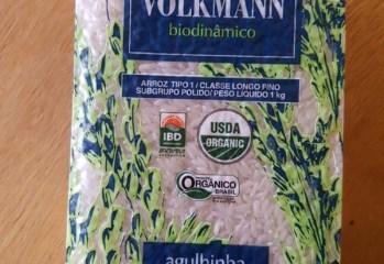 Arroz Agulhinha Polido Organico Volkmann