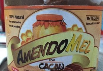 Pasta de Amendoim com Mel e Cacau AmendoMel Thiani