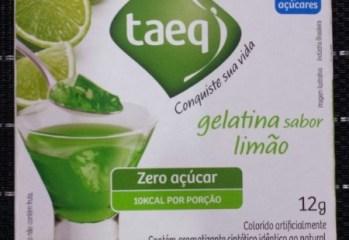 Gelatina sabor Limão Zero Taeq