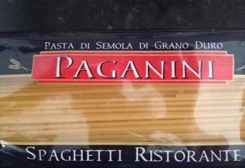 Pasta Spaghetti Paganini