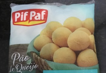 Pao de Queijo Zero Lactose Pif Paf