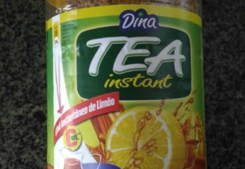 Chá Instantâneo de Limão Dina