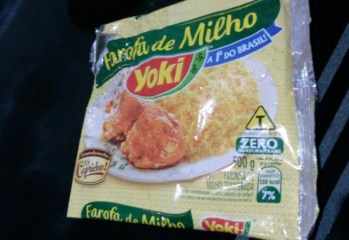 Farofa de Milho Yoki