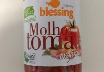 Molho de Tomate Orgânico Tradicional Blessing