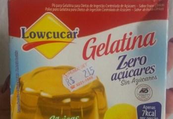 Gelatina Frutas Cítricas Zero Lowçucar