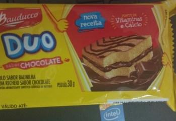 Bolo sabor Chocolate Duo Bauducco