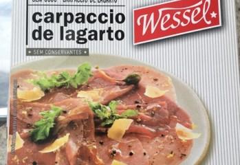 Carpaccio de Lagarto Wessel