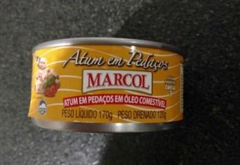 Atum em Pedaços em Óleo Comestível Marcol
