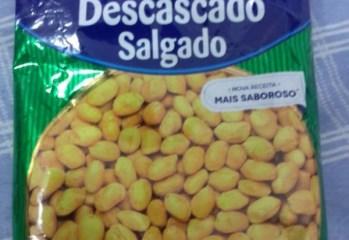Amendoim Descascado Salgado Yoki