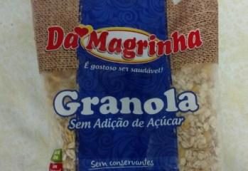 Granola Sem Adição de Açúcar Da Magrinha