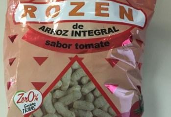 Salgadinho de Arroz Integral Sabor Tomate Rozen