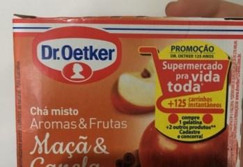 Chá Misto Maçã & Canela Dr. Oetker