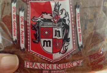 Pão de Centeio Tipo Alemão Frankenbrot Panificação Hamburgo