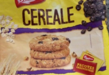 Cookies Integrais Aveia & Passas Cereale Bauducco