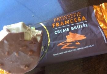 Picolé Crème Brûlée Pastisserie Francesa