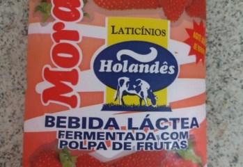 Bebida Láctea Fermentada Morango Laticinios Holandes