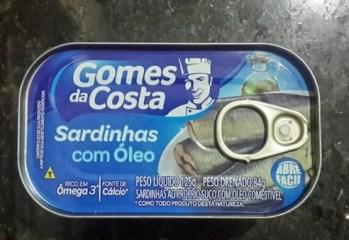 Sardinhas com Óleo Gomes da Costa
