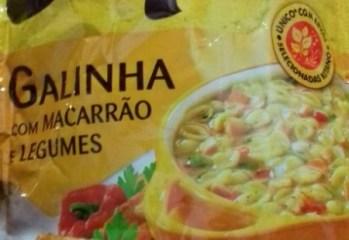 Sopao Galinha com Macarrao e Legumes Kitano