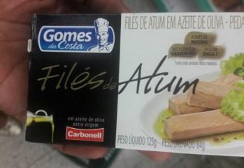 Filés de Atum Gomes da Costa