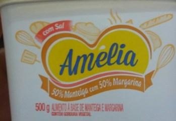 Alimento a Base de Manteiga e Margarina Com Sal Amelia