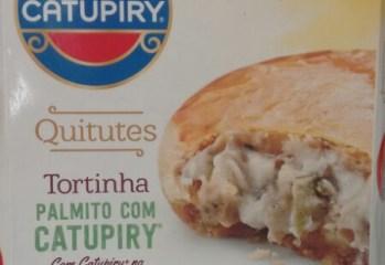Tortinha Palmito com Catupiry Quitutes Catupiry