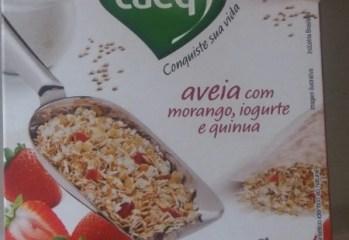 Cereal Matinal Integral de Aveia com Morango, Iogurte e Quinua Taeq