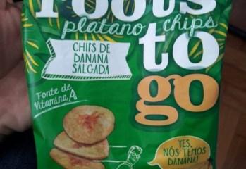 Chips de Banana Salgada Roots To Go