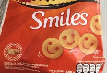 Carinhas de Purê de Batatas Smiles McCain