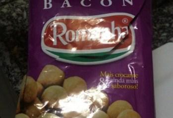 Salgadinho de Trigo Sabor Bacon Romanha