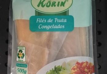 Filés de Truta Congelados Korin