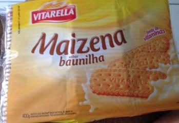 Biscoito Maizena Sabor Baunilha Vitarella