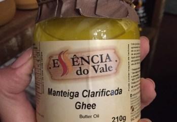 Manteiga Clarificada Ghee Essência do Vale