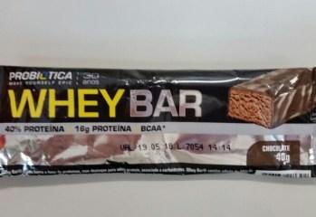 Whey Bar Chocolate Probiotica