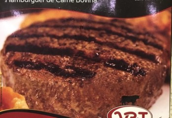 Hambúrguer de Carne Bovina Blend Burger com Bacon VPJ