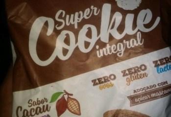 Super Cookie Integral Cacau com Quinoa e Linhaça Zero Superbom