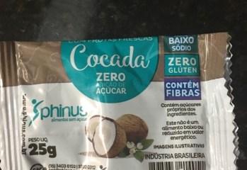 Cocada Zero Phinus
